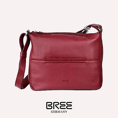 BREE Faro 2 磚紅色 十字肩背包 M  38-338160002