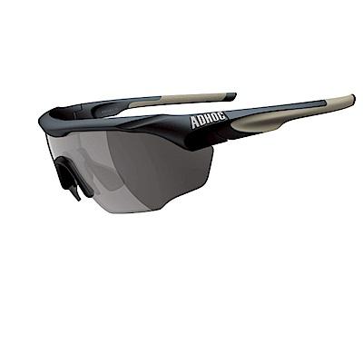 【ADHOC】運動太陽眼鏡-極速變色灰片-半框式 MAX