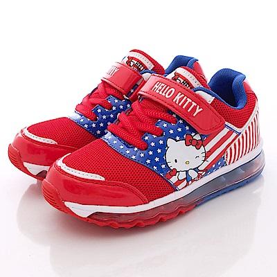 HelloKitty童鞋-全氣墊記憶鞋墊-16358紅(大童段)T1