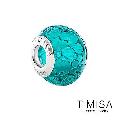 TiMISA 啤酒海(11mm)純鈦琉璃 墜飾串珠
