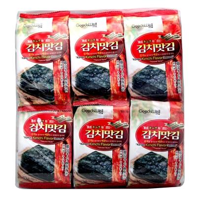 JAEWON 激安殿堂泡菜口味海苔(4gx12入)