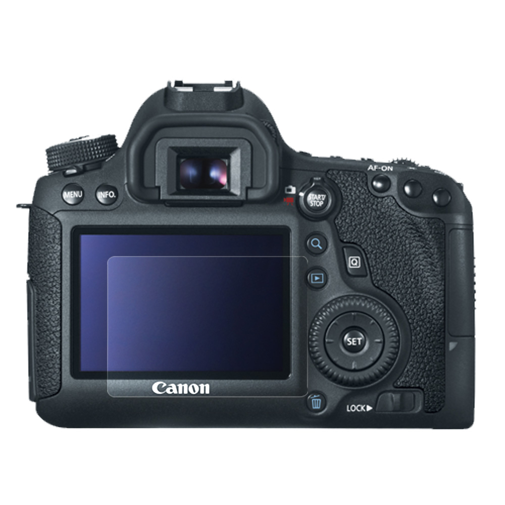 Kamera for Canon EOS 6D高透光保護貼