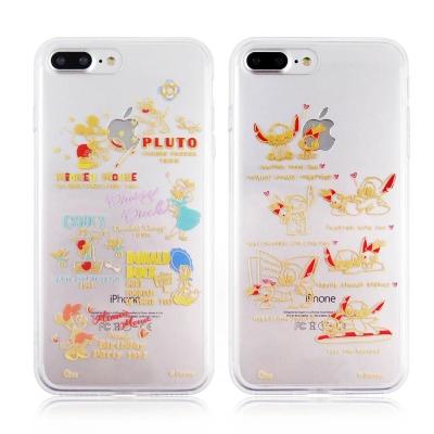 Disney迪士尼iPhone 7Plus金蒔繪雙料保護殼-DisneyBaby