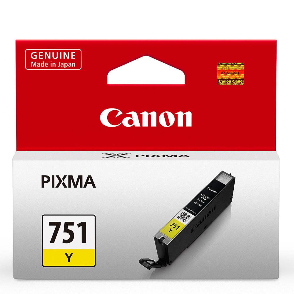 CANON CLI-751Y 原廠黃色墨水匣 @ Y!購物