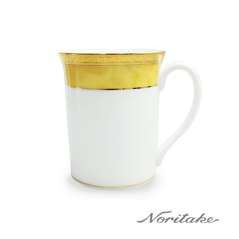 Noritake 皇家黃邊馬克杯