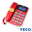 TECO 東元 大字鍵 來電顯示 有線電話XYFXC 102
