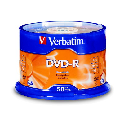 Verbatim威寶 藍鳳凰 16X DVD-R 50P