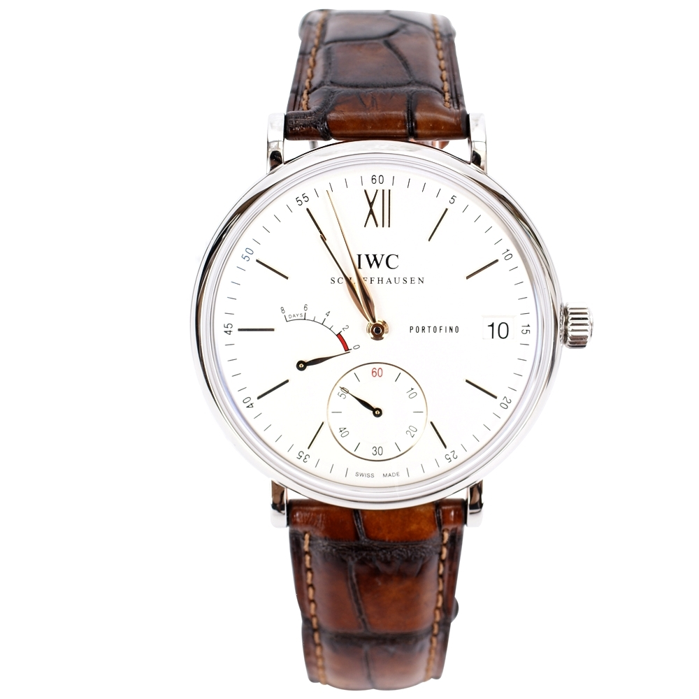 IWC 萬國錶 Portofino IW510103 柏濤菲諾手動上鏈八日動力腕錶-45mm