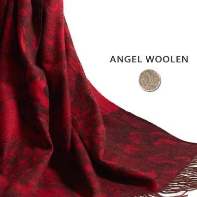 Angel-Woolen-頂級植物染100-Cashmere厚羊絨披肩-圍巾-共兩色