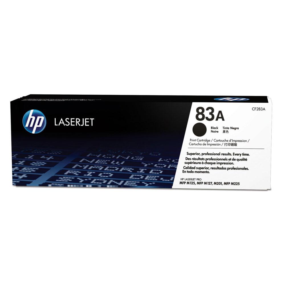 HP 83A 黑色原廠 LaserJet 碳粉匣   (CF283A)