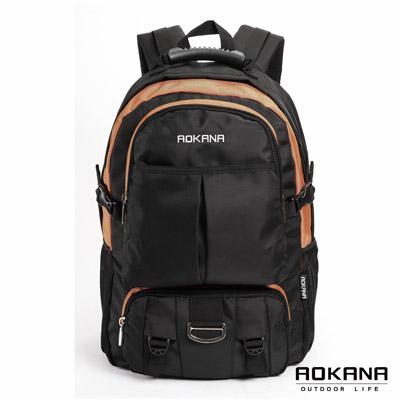 AOKANA奧卡納 - 台灣釦具 防潑水電腦後背包68-064 - 橘