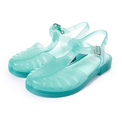 MEL復刻經典果凍鞋-童-綠色