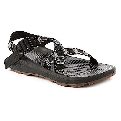 美國Chaco。男越野舒壓運動涼鞋標準款CH-ZLM01HE05 (立方黑)