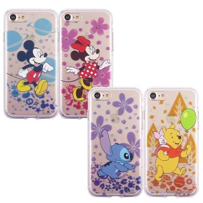 Disney迪士尼iPhone 7 Plus施華洛世奇防摔氣墊空壓保護套_經典人...