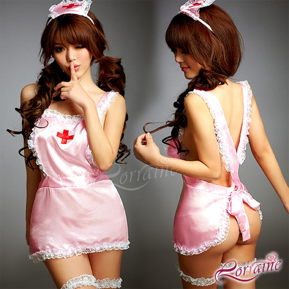 【Lorraine】專屬看護!誘惑五件式護士服