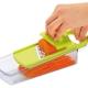 日本製造Shimomura三合一漾彩蔬果刨切器(蘋果綠) product thumbnail 1