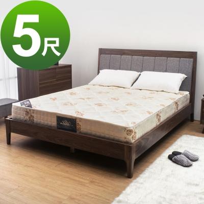 Boden-經典透氣防蹣抗菌獨立筒床墊(軟硬適中)-5尺標準雙人
