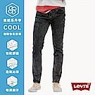 牛仔褲 男款 511低腰窄管 Cool Jeans 黑灰復古 - Levis