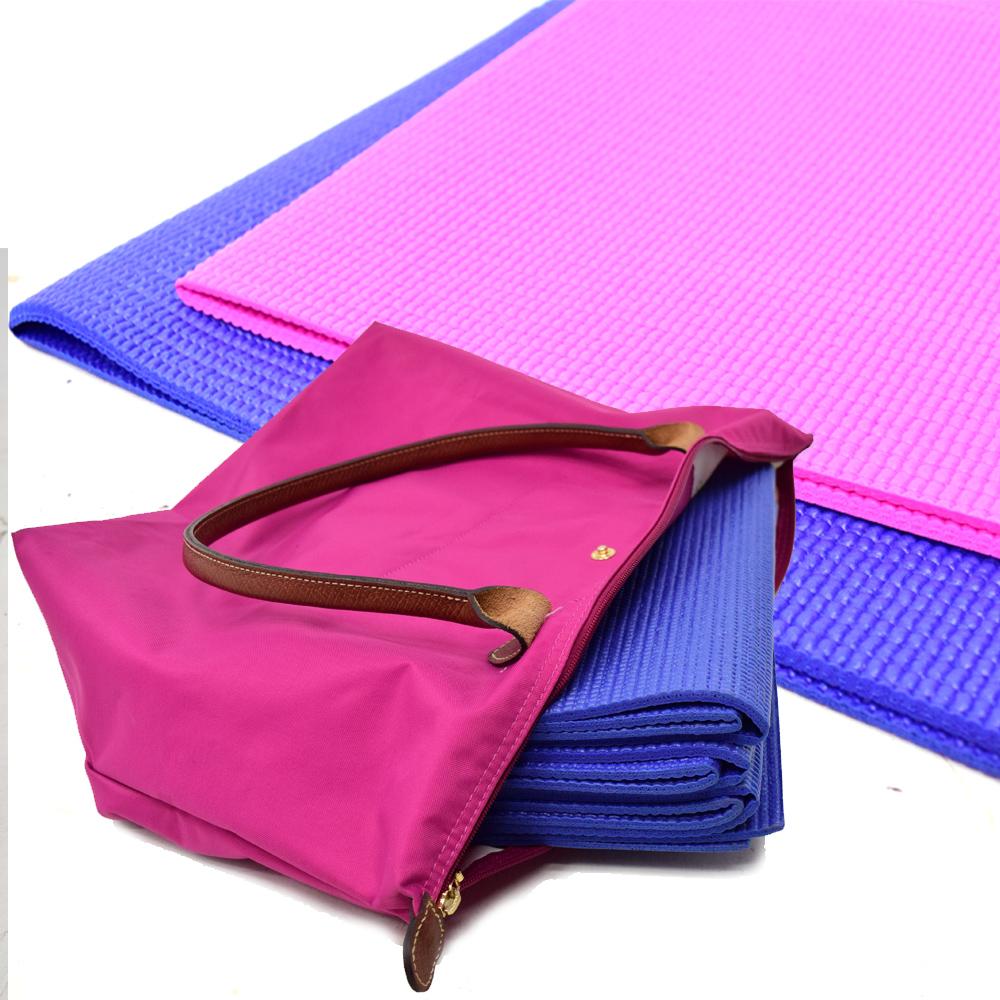 簡便摺疊型輕便瑜珈墊 -快速到貨
