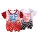 寶寶短袖連身衣(2件一組)  k50036