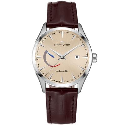 漢米爾頓Jazzmaster Power Reserve系列機械腕錶(H32635521)