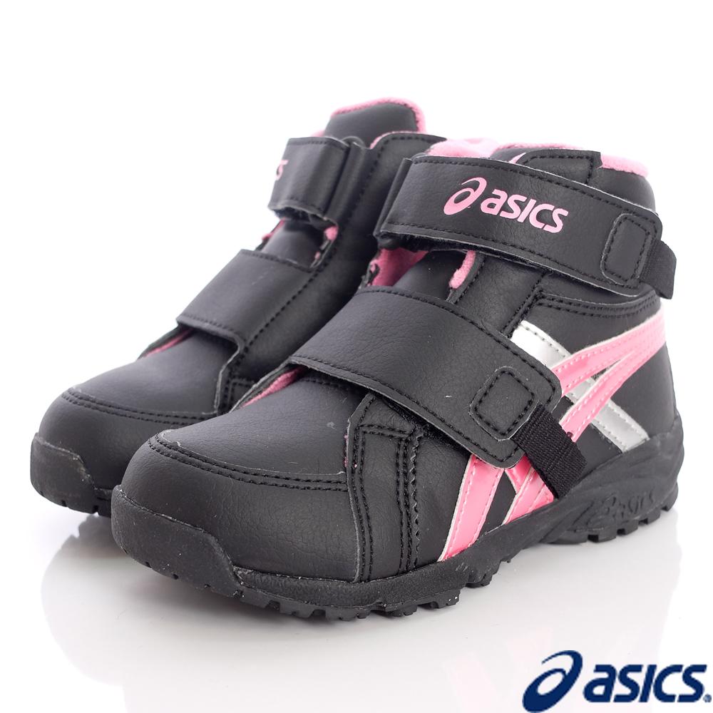 亞瑟士SUKU2機能鞋★高筒穩定機能款-105-9072黑粉(中童段)