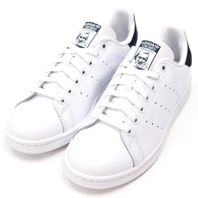 ADIDAS-STAN SMITH女休閒鞋-白藍