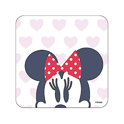 【迪士尼獨家授權】普普風珪藻土吸水杯墊/皂盤 -心愛米妮