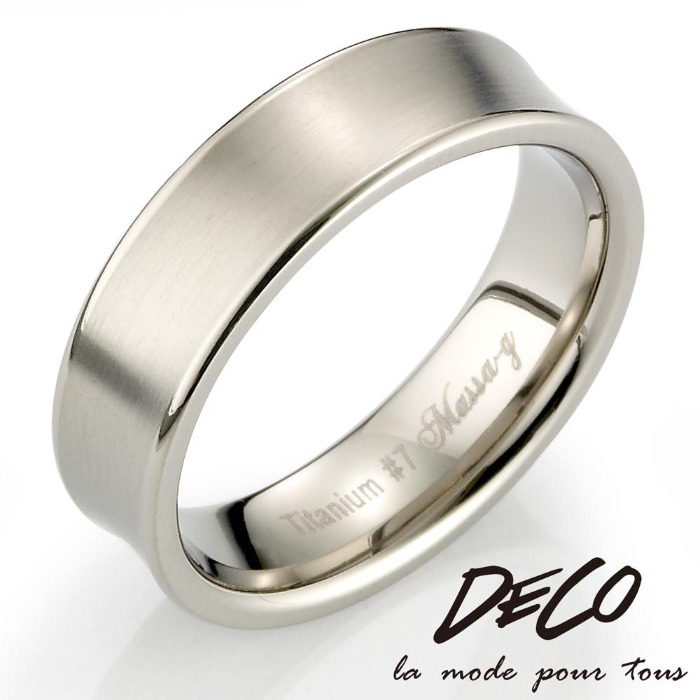 DECO X MASSA-G Double Ring【Sware】 鈦金男戒