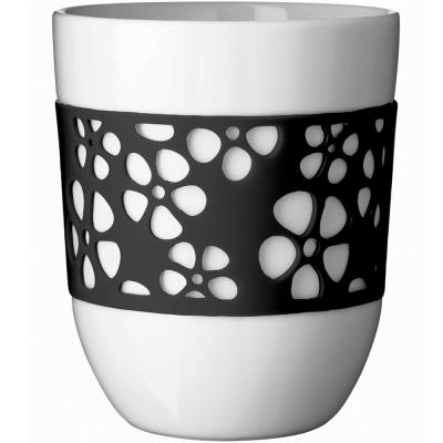 QDO 雙層雕花杯(黑)