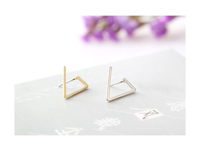 LuciTA  時尚空運新款 歐美風潮幾何造型耳環