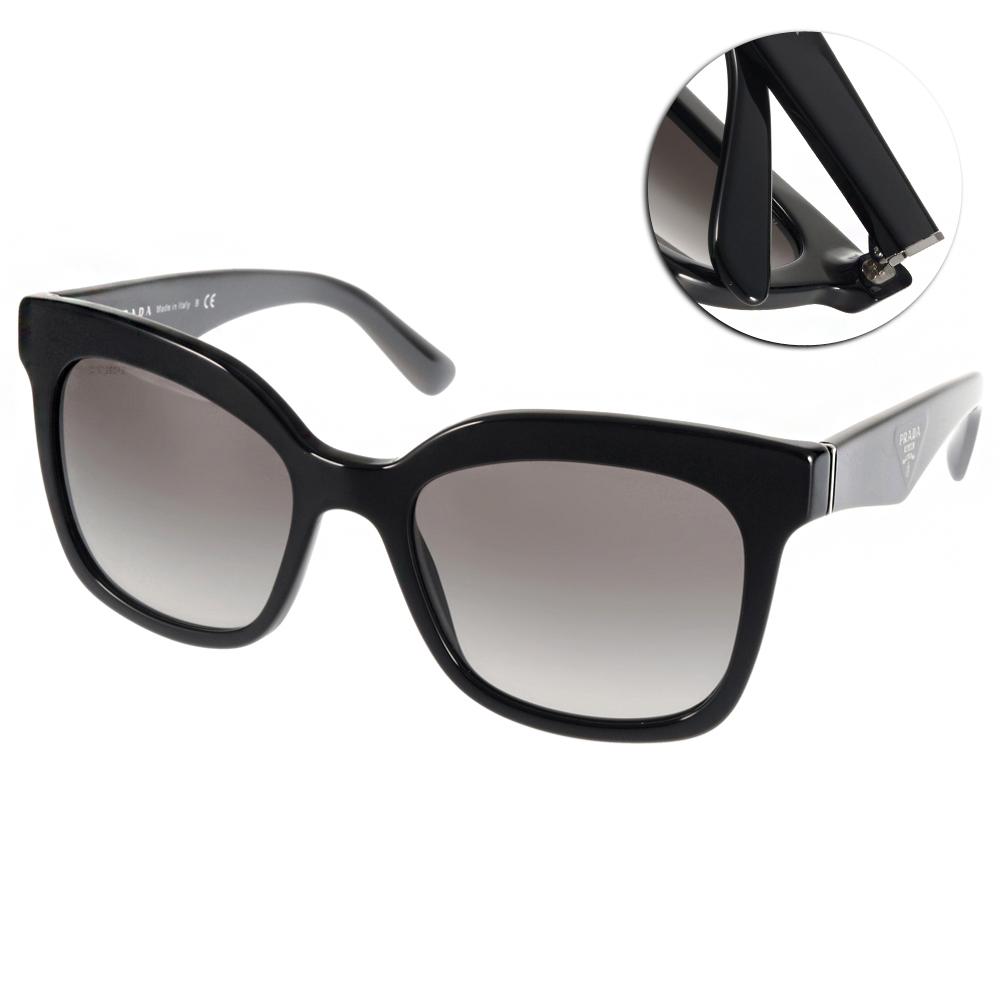 PRADA太陽眼鏡 經典貓眼款/黑#PR24Q 1AB0A7
