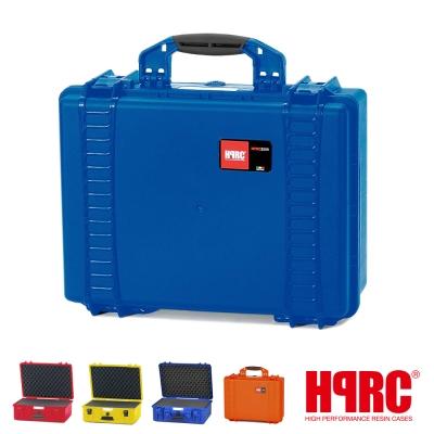 義大利 HPRC 2500C 頂級防撞硬殼箱-內泡棉式(公司貨)-藍色