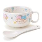 Sanrio 雙星仙子陶磁馬克湯杯附匙組(繽紛派對)