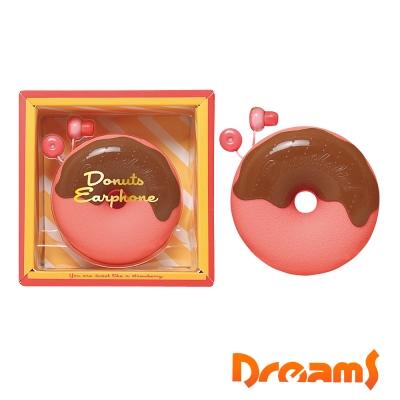 Dreams Donuts Earphone 草莓甜甜圈耳機禮物組