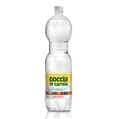 義大利Goccia di Carnia 高地卡尼天然礦泉水瓶裝(1500mlx6入)
