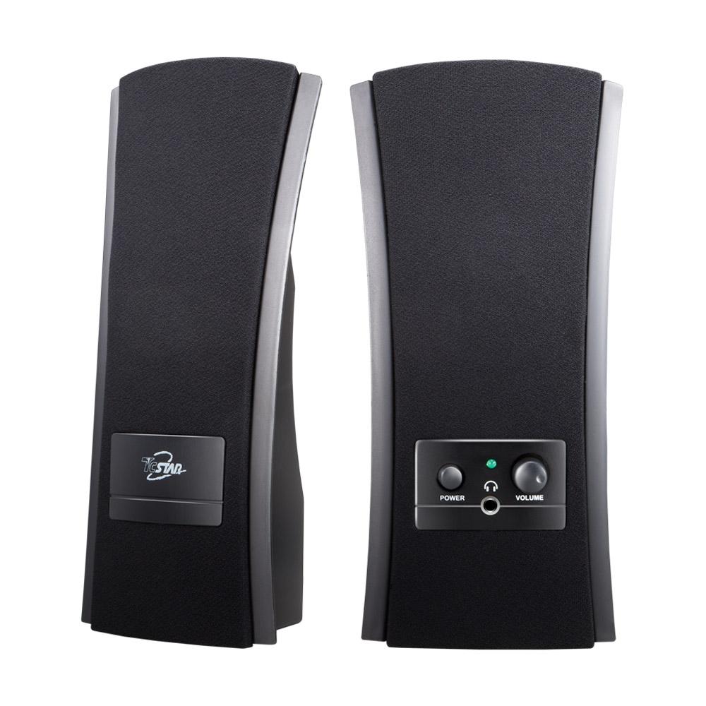 福利品TCSTAR二件式多媒體喇叭-TCS2285