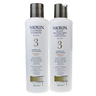 NIOXIN 耐奧森(儷康絲) 組合3號潔髮乳+甦活乳300ML 公司貨