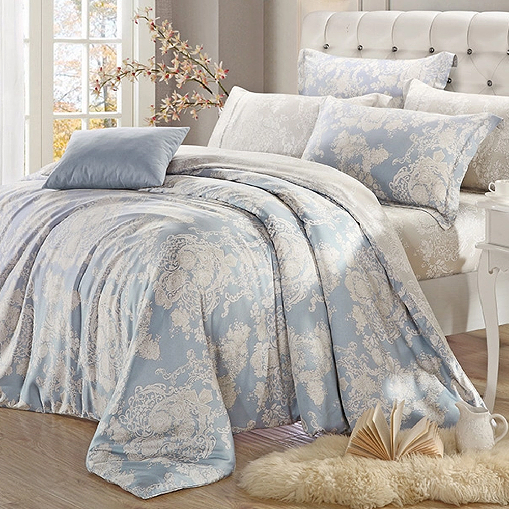 Lily Royal 天絲 特大-六件式兩用被床罩組 法國巴黎