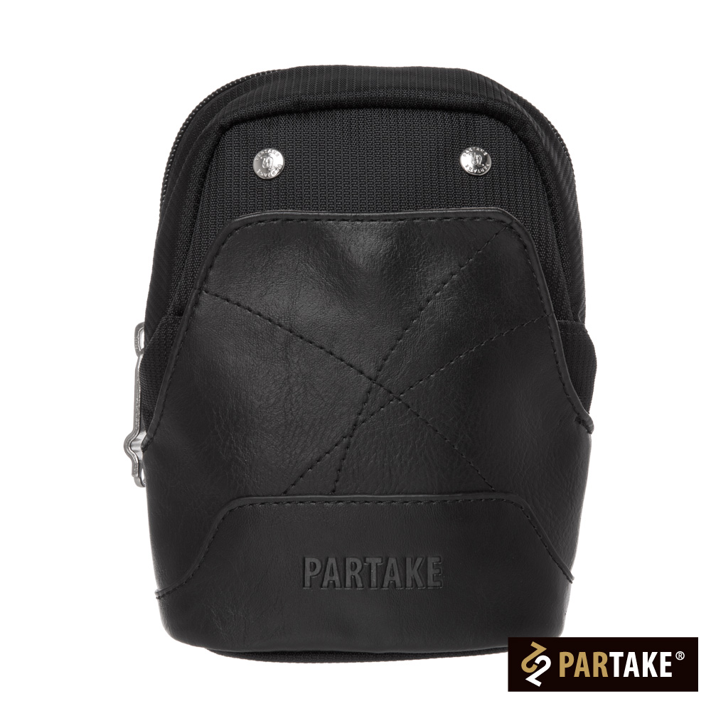 PARTAKE A2系列-腰掛包-黑