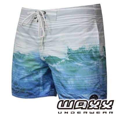 WAXX 熱帶系列-極酷衝浪吸濕排汗男性海灘褲(15吋)