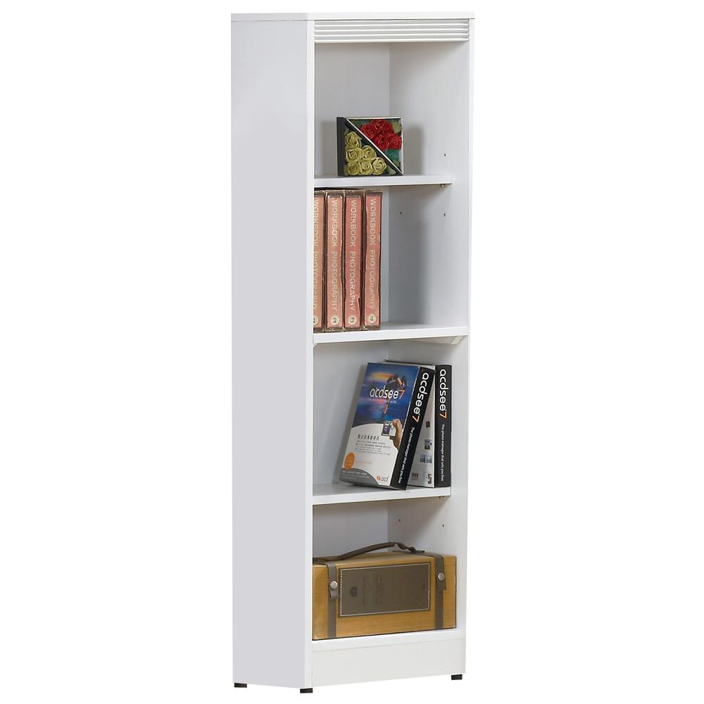 時尚屋 布萊尼1.3x4.5尺開放書櫃 寬39.5cm