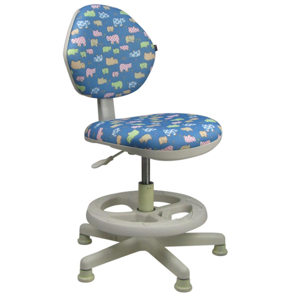 邏爵家具 守習 微笑河馬兒童椅/成長椅/電腦椅二色