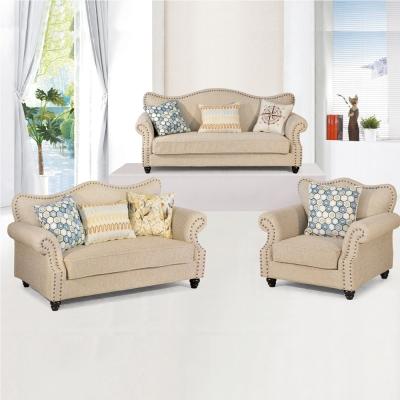品家居 愛比布面沙發組合(1+2+3人座)-免組