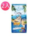 Friskies喜躍《海洋魚總匯口味》貓乾糧 1.2kg (兩包組)