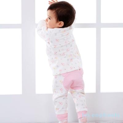 麗嬰房les enphants 家居系列下雨小象包紗長褲 粉色