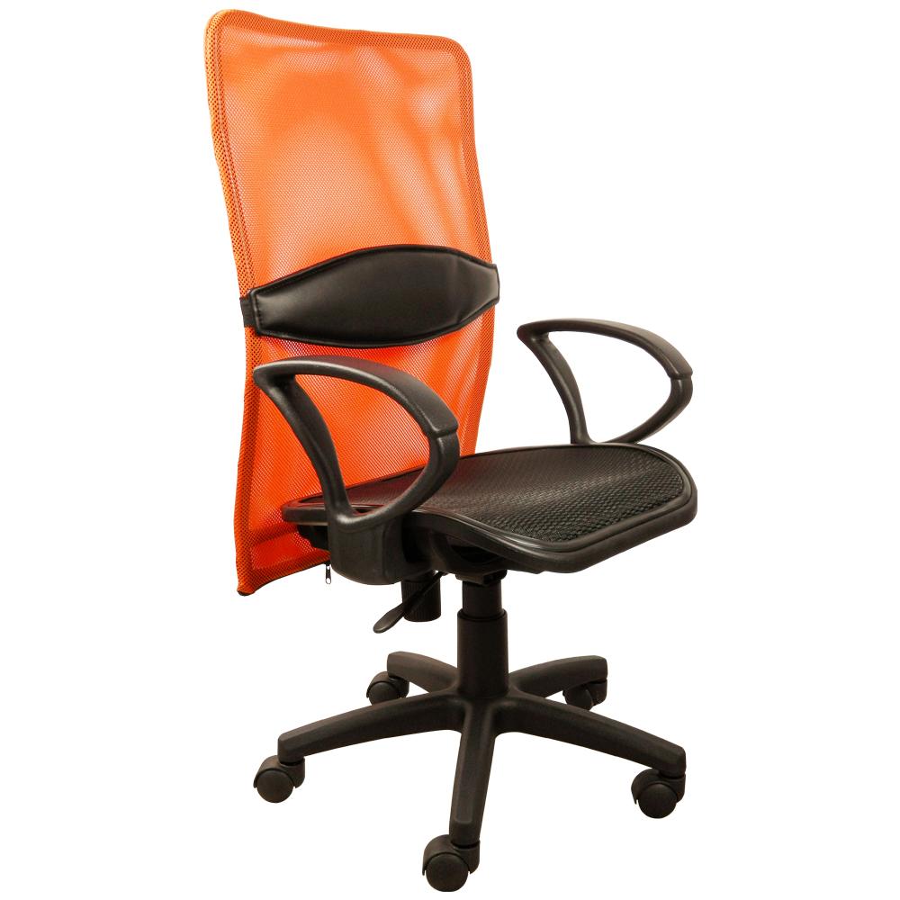 【時尚屋】高背網布護腰人體主管椅-四色(DJ-912S)