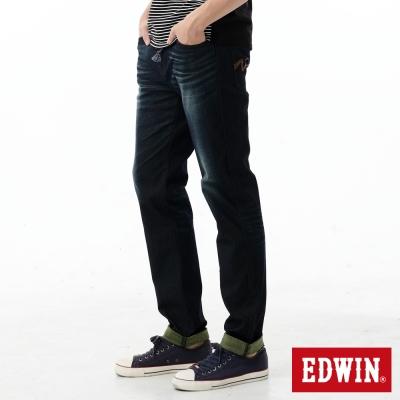 EDWIN AB褲 迦績褲JERSEYS雙色牛仔褲-男-黃色