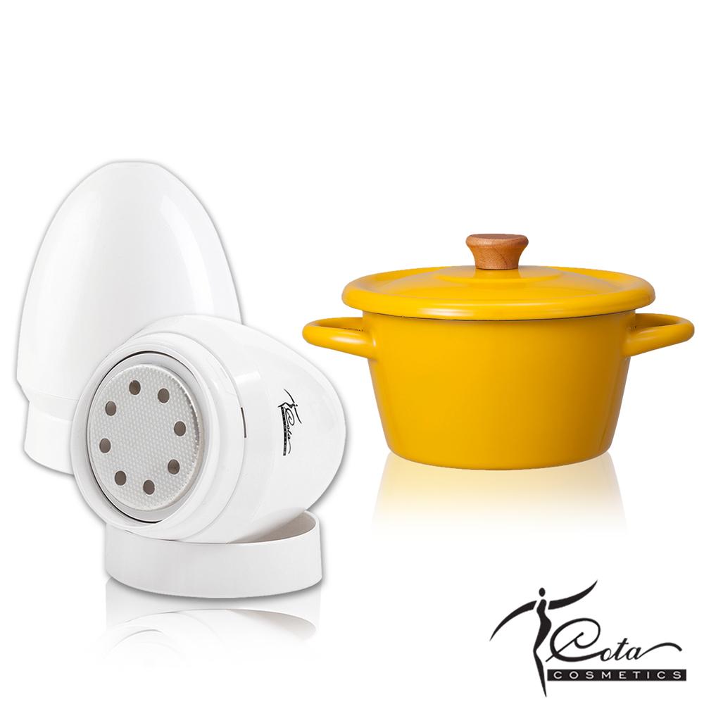 COTA 寶貝嫩足去繭蛋-經典白+CB雙耳湯鍋