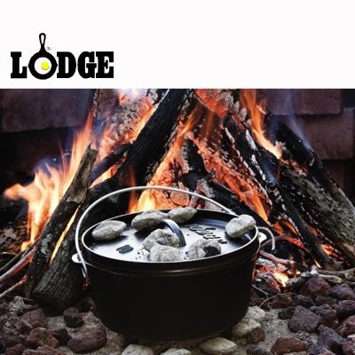 美國Lodge-鑄鐵荷蘭鍋-4Q-26公分